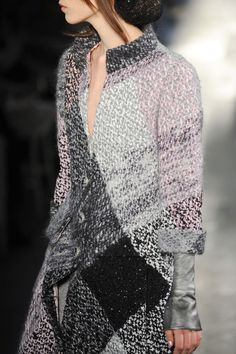 No, not recycled knitwear but Chanel Fall 2012 - still, what keeps you from following the thread?