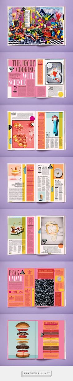 Ideas fitness design layout texts for 2019 Graphisches Design, Book Design Layout, Graphic Design Layouts, Print Layout, Page Design, Graphic Design Inspiration, Food Design, Design Ideas, Editorial Design