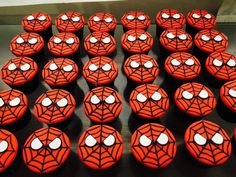 Spiderman Cake Ideas for Little Super Heroes - Novelty Birthday Cakes Spiderman Birthday Cake, Spiderman Theme, Superhero Birthday Party, Birthday Cupcakes, Superhero Cake, 5th Birthday Party Ideas, Birthday Fun, Henri 3, Baby Led Weaning
