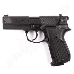 Walther CP88 CO2 Pistole brüniert - 4,5mm Diabolo