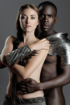 Olga Fedori and Jimmy Akingbola