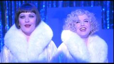 Roxy Hart and Velma Kelly in Chicago, the movie