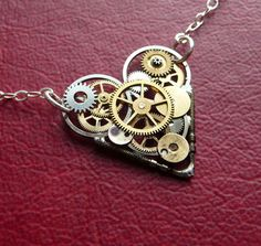 I love steampunk jewelry