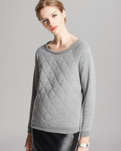 ALTERNATIVE Sweatshirt - Clark Raglan Quilted | Bloomingdale's