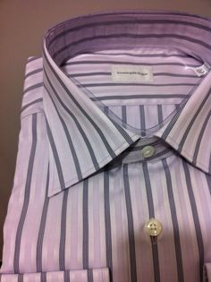 NWT$425 Ermenegildo Zegna luxury gorgeous dress shirt  17/43~44 (Special Sale #ErmenegildoZegna