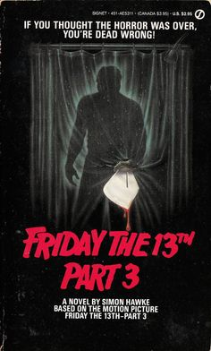 Friday The 13th Part 3 #jasonvoorhees