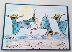 Cartwheels on the Beach from https://sunshinecards-creations.com/_tutorial at website..... 7Jun2017