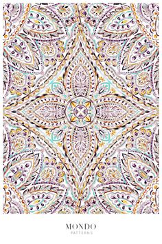 Watercolor Mandala, Watercolor Effects, Graphic Patterns, Print Patterns, Graphic Design, Phone Wallpaper Images, Mandala Pattern, Vector Pattern, Surface Design