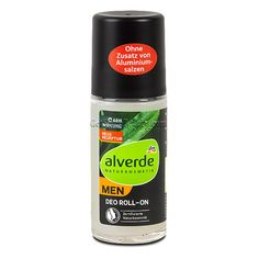 ALVERDE Natural Cosmetics MEN Deodorant Roll-on Fresh 50 ml | Get Some Beauty