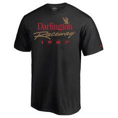 Darlington Raceway Fanatics Branded 1987 T-Shirt - Black