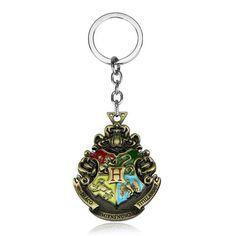Hogwarts Keychain Logo //Price: $11.95 & FREE Shipping //     #harrypotter #harry #hogwarts  #wizard #books  #pottery #magic  #potterhead