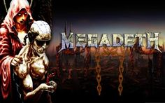 Megadeth Bands Groups Heavy Metal Thrash Hard Rock Album Covers Vic Rattlehead Skulls Widescreen Res
