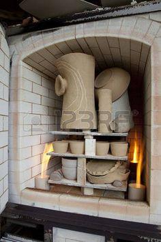 Refractory Brick Stock Photos And Images Refractory Brick, Pottery Kiln, Raku Kiln, Wood Kiln, Pizza Oven Outdoor, Fire Clay, Art World, Firewood, Backyard
