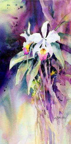 Julie Gilbert Pollard #watercolor jd