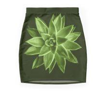 Greenery succulent Echeveria agavoides flower Mini Skirt by #PLdesign #greenery #succulent #trendy