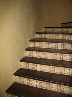 38 Best Terracotta Tile Stair Risers Images Ladders