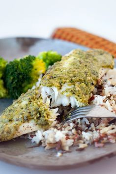 Pesto Topped Baked Tilapia: Healthy, delicious, and can be on your table in 30 minutes! My family loves this! (scheduled via http://www.tailwindapp.com?utm_source=pinterest&utm_medium=twpin&utm_content=post510003&utm_campaign=scheduler_attribution)