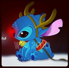 Stitch The Red Nosed Reindeer