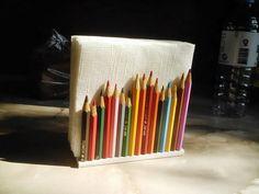 Diy napkin holder ideas - LittlePieceOfMe