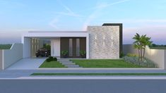 Home Building Design, Building A House, House Design, Color Combinations Home, 3d House Plans, Independent House, Townhouse, Facade, 3 D