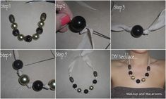 DIY bead necklace in 5 easy steps
