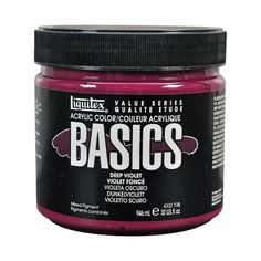 Liquitex BASICS Acrylic Paint Jar