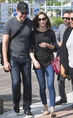 John Krasinksi & Emily Blunt from The Big Picture: Today's Hot Pics   E! Online