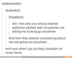So true except the last part. I'm still under house arrest