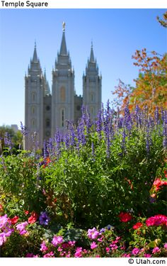 Visit Temple Square in Salt Lake City and stay just a mile away at Red Lion Hotel Salt Lake Downtown!