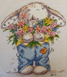 Somebunny to Love Cross Stitch by ~Tishounette on deviantART