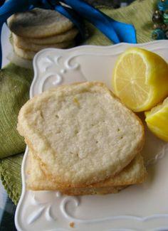 Gluten Free Lemon Shortbread from Petit Foodie