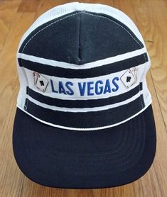998131deeba Vintage Trucker Snapback Hat Las Vegas Never Worn  fashion  clothing  shoes   accessories