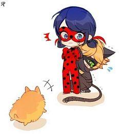 ♡ Miraculous Ladybug ♡ Chat Noir x Ladybug