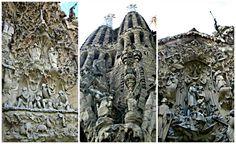 outside La Sagrada Familia, Barcelona, Spain