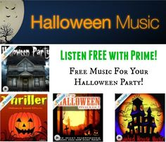 free halloween music and sound effects with amazon prime get free samples by mail - Scary Halloween Music Mp3