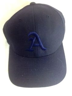 Oakland A's Athletics Hat Blue On Blue Urban MLB velcro Strapback #Athletics #PacificHeadwear #StrapbackBaseballCap
