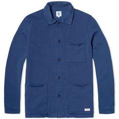 Arpenteur Tricot Jacket (Navy Plain)