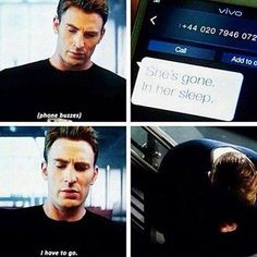 This shows that Cap didn't just love her romantically, but with a deep friendship that years apart couldn't destroy. So many feels rn