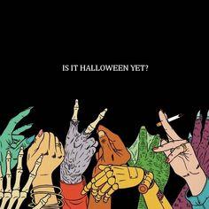 Feeling it halloween grudge waiting spooky Spooky Halloween, Vintage Halloween, Halloween Music, Halloween 2018, Halloween Gifts, Halloween Ideas, Psy Art, Autumn Aesthetic, Pink Aesthetic