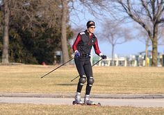 Le #skiroues ou #rollerski : un #sport de glisse en version estivale