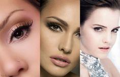 Nude eye makeup for brown eyes
