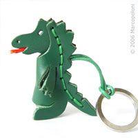 DRAGO - Dragon Italian Leather Key Chain