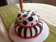 Funky Lil Birthday Cake