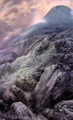 Alan Lee's Lord of the Rings Artwork / lee-Mount_Doom_46.jpg