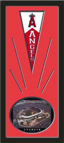 Los Angeles Angels Wool Felt Mini Pennant & Edison International Field Photo - Framed With Team Color Double Matting In A Quality Black Frame-Awesome & Beautiful-Must For A Championship Team Fan! Most NFL, MLB, NBA, Teams Available-Plz Mention In Gift Message If Need A different Team Art and More, Davenport, IA http://www.amazon.com/dp/B00HZJXRZE/ref=cm_sw_r_pi_dp_GMAEub03EH248