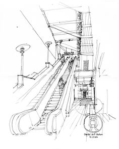Interesting Find A Career In Architecture Ideas. Admirable Find A Career In Architecture Ideas. Perspective Drawing Lessons, Perspective Sketch, City Drawing, Drawing Sketches, Drawings, Drawing Drawing, Drawing Ideas, Observational Drawing, Building Sketch