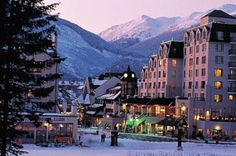 Whistler, Canada. Somehow I always visit this place during the summer. It's nice and all but I WANT to go snowboarding here!