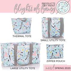 Totes and thermals Thirty One Party, Thirty One Bags, Thirty One Gifts, 31 Gifts, Best Gifts, Thirty One Organization, Large Utility Tote, 31 Bags, Zipper Pouch
