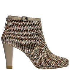 Ankle Boot City Knitted Taupe