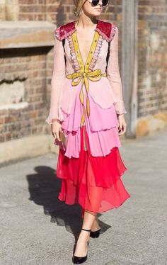 One of our favorite street style looks from Australian Fashion Week...